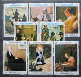 Poštovní známky Fudžajra 1967 Umění Mi# 198-205 Kat 11€