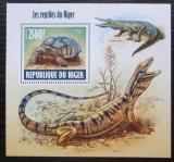 Poštovní známka Niger 2013 Obojživelníci a plazi Mi# Block 227 Kat 10€