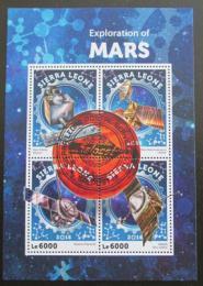 Poštovní známky Sierra Leone 2016 Prùzkum Marsu Mi# 7163-66 Kat 11€ - zvìtšit obrázek