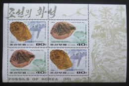 KLDR 1994 Fosílie Mi# 3610,3613 Kat 8€