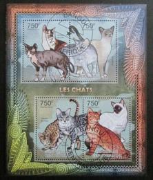 SAR 2012 Domácí koèky Mi# 3642-45 Kat 14€