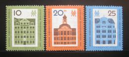 Poštovní známky DDR 1962 Veletrh v Lipsku Mi# 873-75