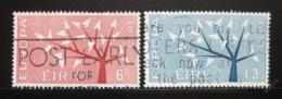 Poštovní známky Irsko 1962 Evropa CEPT Mi# 155-56