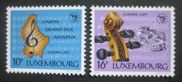 Lucembursko 1985 Evropa CEPT, Rok hudby Mi# 1125-26