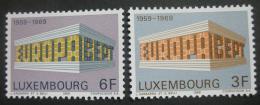 Lucembursko 1969 Evropa CEPT Mi# 788-89