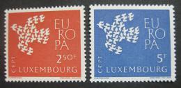 Lucembursko 1961 Evropa CEPT Mi# 647-48