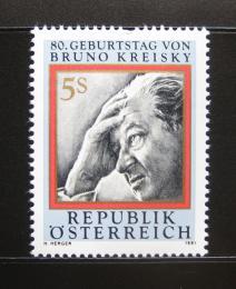 Rakousko 1991 Kancléø Bruno Kreisky Mi# 2015