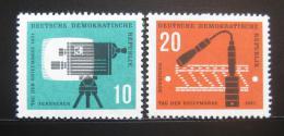 DDR 1961 Den známek Mi# 861-62