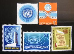 OSN New York 1965-66 Rùzné motivy SC# 146-50