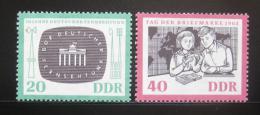 DDR 1962 Výroèí Mi# 923-24