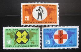 DDR 1963 Boj proti malárii Mi# 942-44