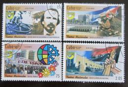 Poštovní známky Kuba 2008 Státní svátky Mi# 5136-39