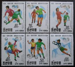 KLDR 1991 MS ve fotbalu žen Mi# 3249-54
