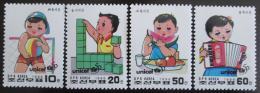 KLDR 1996 UNICEF Mi# 3865-68
