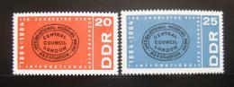 DDR 1964 První soc. internacionála Mi# 1054-55