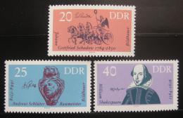 DDR 1964 Výroèí Mi# 1009-11