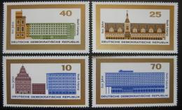 DDR 1965 Lipsko Mi# 1126-29
