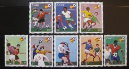 Kongo Dem. Zaire 1981 MS ve fotbale Mi# 722-29