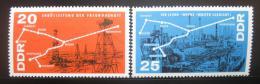 DDR 1966 Chemický prùmysl Mi# 1227-28