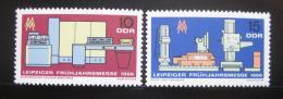 DDR 1966 Lipský veletrh Mi# 1159-60