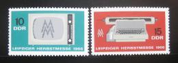 DDR 1966 Lipský veletrh Mi# 1204-05