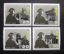 DDR 1966 Národní armáda Mi# 1161-64