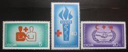 DDR 1966 Dárcovství krve Mi# 1207-09