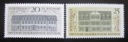 DDR 1967 Architektura Mi# 1329-30