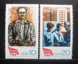 DDR 1968 Kongres odborù Mi# 1363-64