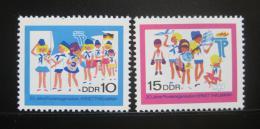 DDR 1968 Organizace mladých pionýrù Mi# 1432-33