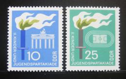 DDR 1968 Spartakiáda mládeže Mi# 1375-76