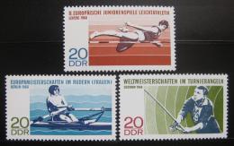 DDR 1968 Šampionáty Mi# 1372-74