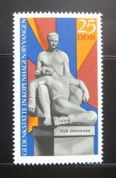Poštovní známka DDR 1969 Památník, Kodaò Mi# 1512