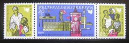 Poštovní známky DDR 1969 Mezinárodní mírový kongres Mi# 1478-80
