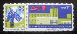 Poštovní známka DDR 1970 Nìmecké rádio Mi# 1573-74