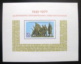 Poštovní známka DDR 1970 Výroèí osvobození Mi# Block 32