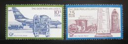 Poštovní známky DDR 1971 Den filatelie Mi# 1703-04