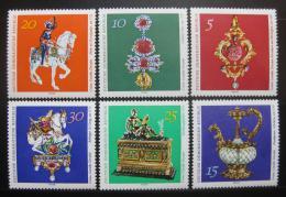 Poštovní známka DDR 1971 Klenoty z Green Vault Mi# 1682-87