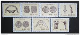 Poštovní známky Maïarsko 1984 Archeologické objevy Mi# 3673-79