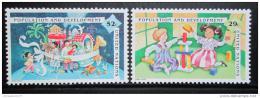 Poštovní známky OSN New York 1994 Populace a rozvoj Mi# 675-76