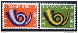 Poštovní známky Lucembursko 1973 Evropa CEPT Mi# 862-63