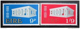 Poštovní známky Irsko 1969 Evropa CEPT Mi# 230-31