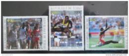 Poštovní známky Èad 1988 LOH Soul Mi# 1166-68