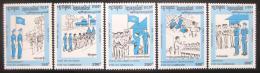 Poštovní známky Kambodža 1993 Program UNTAC Mi# 1360-64
