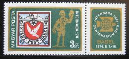 Poštovní známka Maïarsko 1974 Výstava INTERNABA Mi# 2956