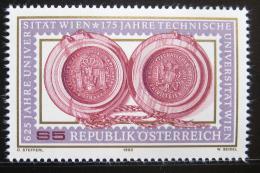 Poštovní známka Rakousko 1990 Univerzitní peèeté Mi# 1984
