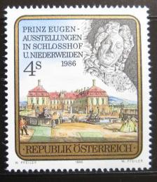 Poštovní známka Rakousko 1986 Výstava prince Evžena Mi# 1845