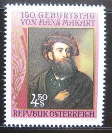 Poštovní známka Rakousko 1990 Hans Makart, malíø Mi# 1991