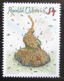 Poštovní známka Rakousko 1986 Umìní, Walter Schmogner Mi# 1865