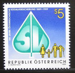 Poštovní známka Rakousko 1989 Sociální pojištìní Mi# 1965